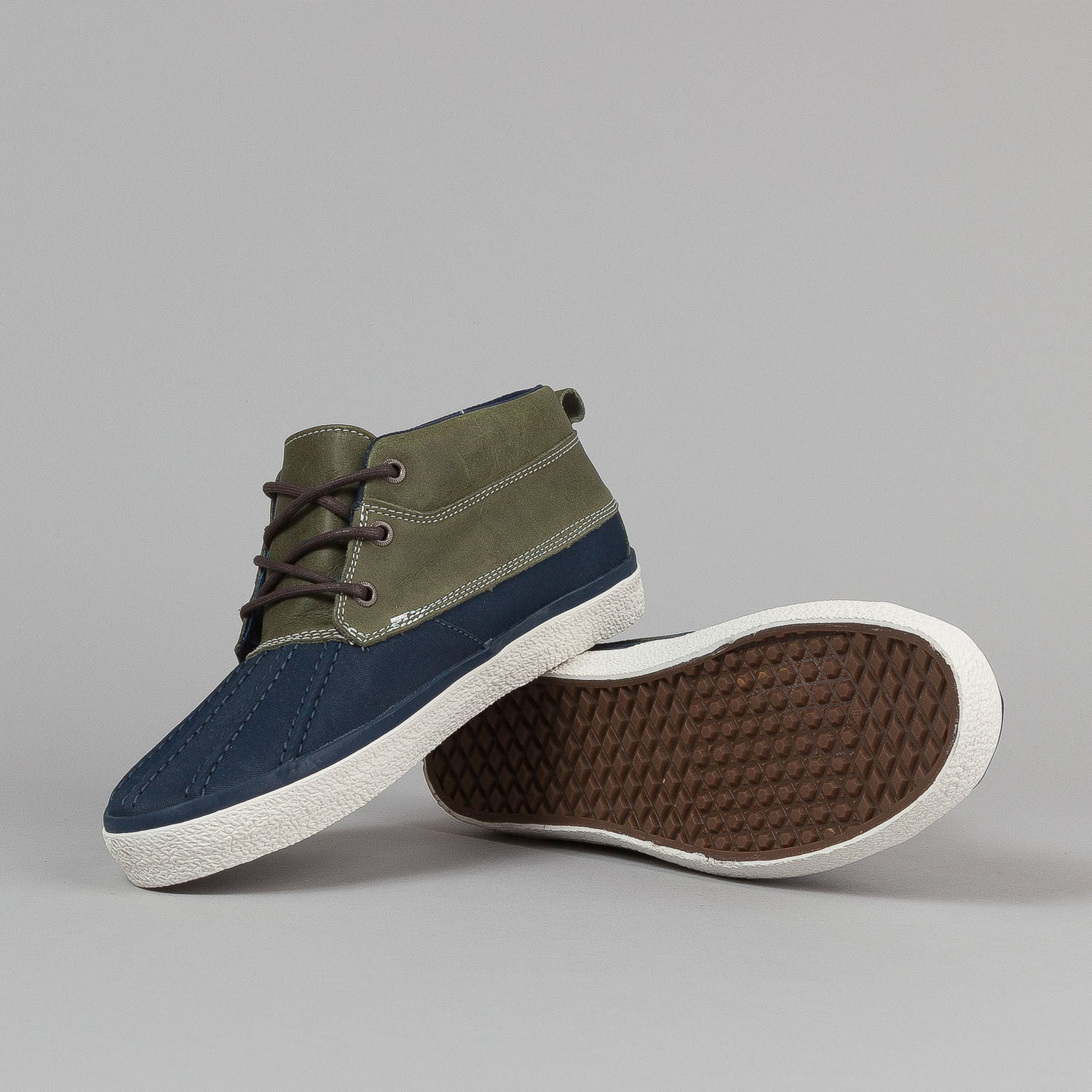 Vans Chukka Del Pato CA Shoes - Dress Blues / Vanilla Ice