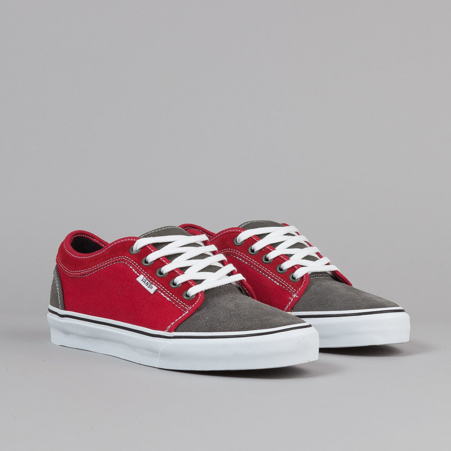 Vans Chukka Low Shoes - Massimo Cavedoni / Grey / Red