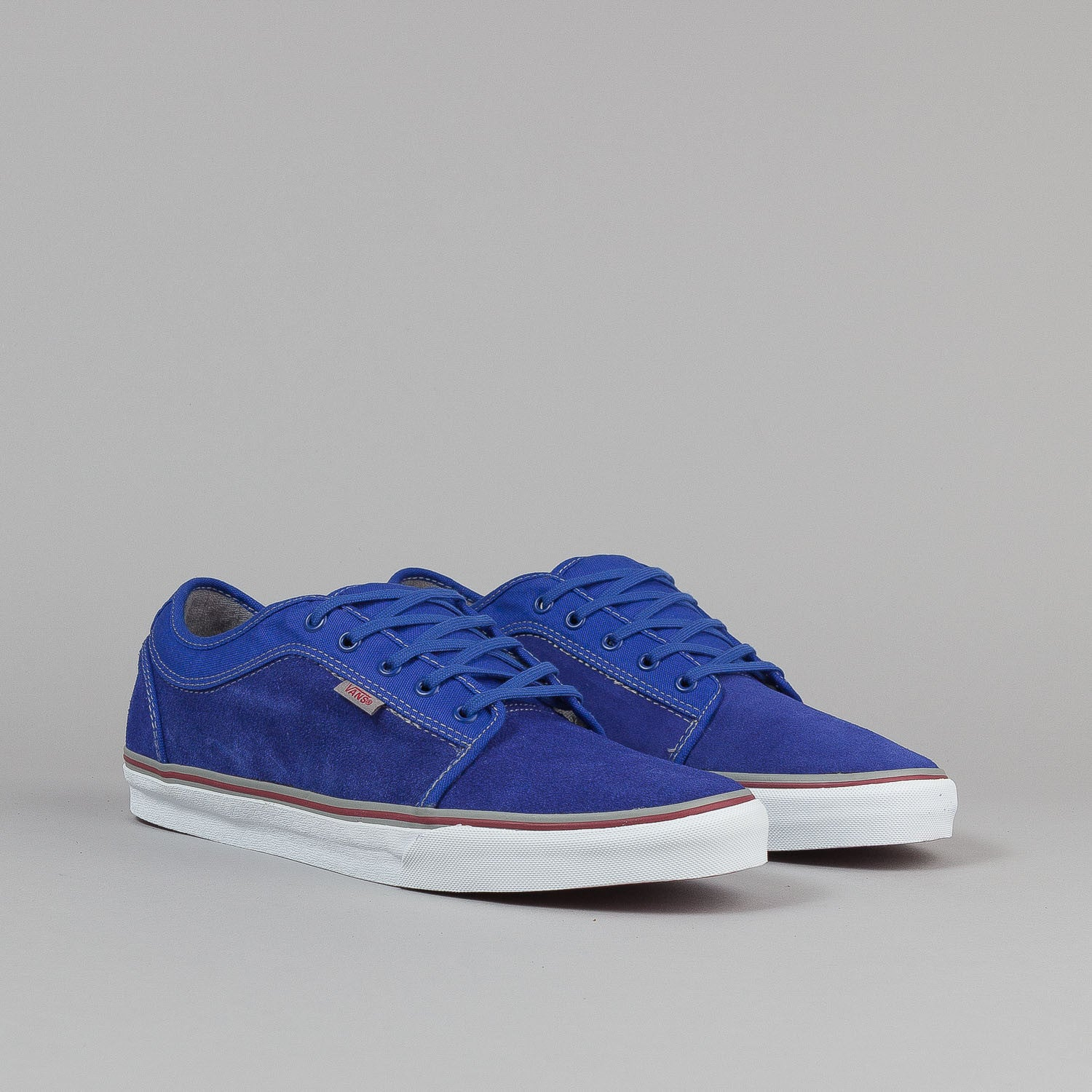 Vans Chukka Low Shoes - Royal / Mid Grey / Red