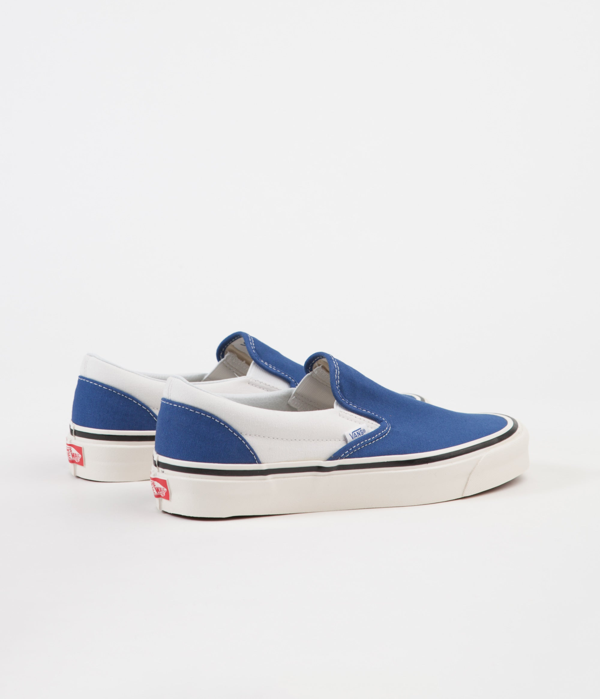 4df06be1590 ... Vans Classic Slip-On 98 DX Anaheim Factory Shoes - OG Blue   White ...