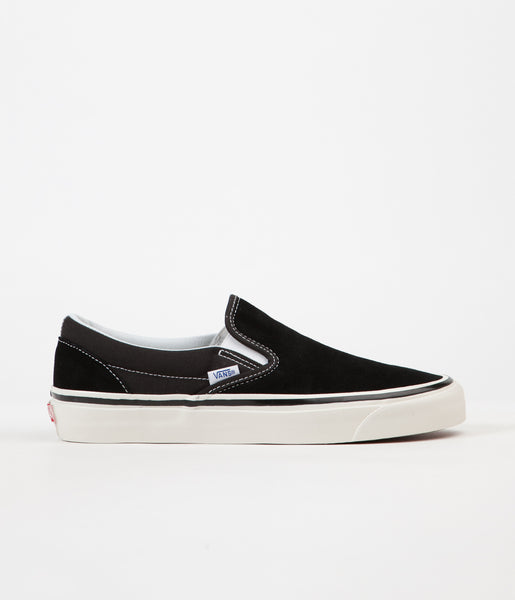 Vans Classic Slip On 98 DX Anaheim Factory Suede Shoes - OG Black