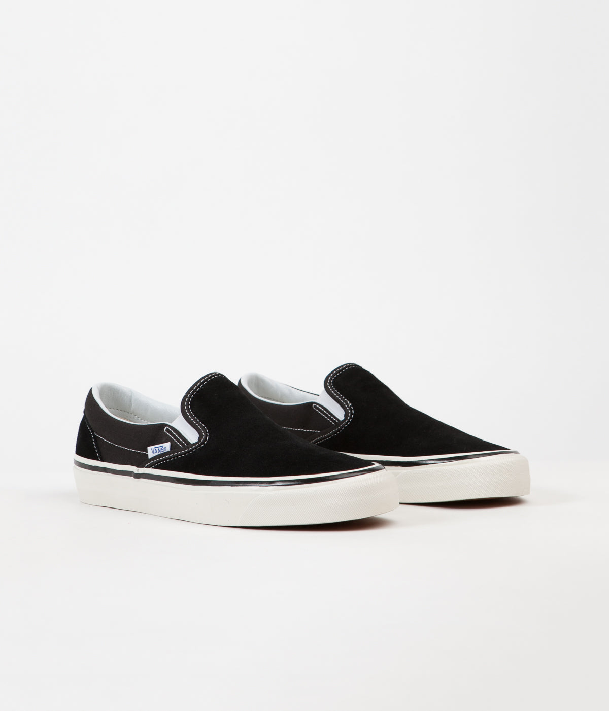 f9d6cdebb51697 ... Vans Classic Slip On 98 DX Anaheim Factory Suede Shoes - OG Black ...