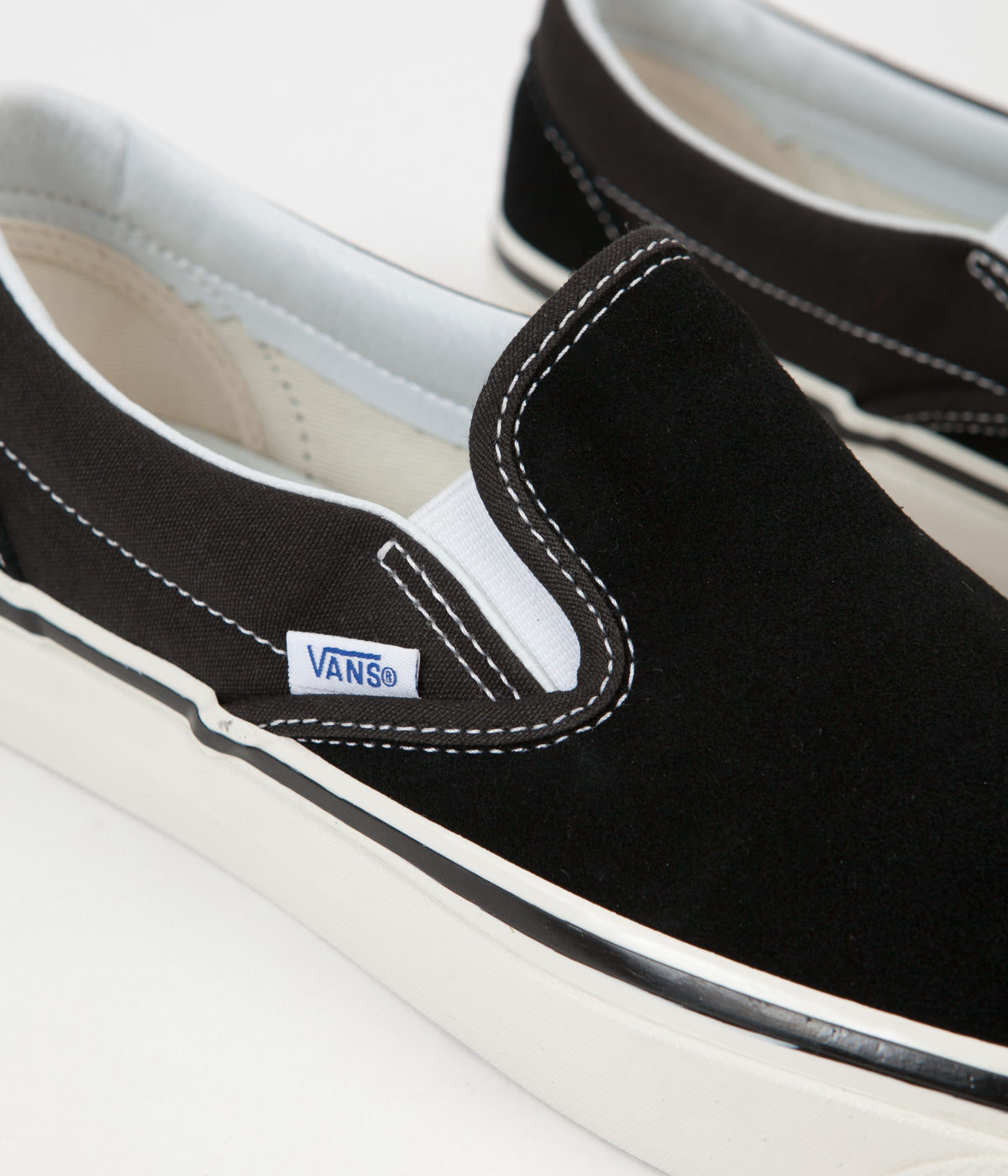 ... Vans Classic Slip On 98 DX Anaheim Factory Suede Shoes - OG Black ... 75622244f
