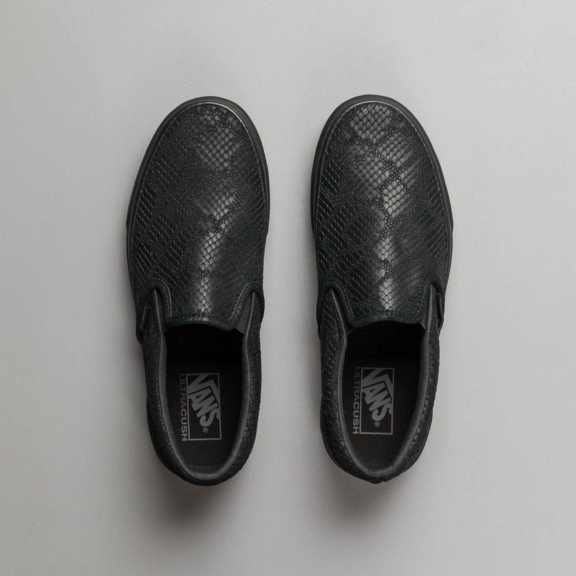 Vans Classic Slip-On DX Shoes - Reptile Black
