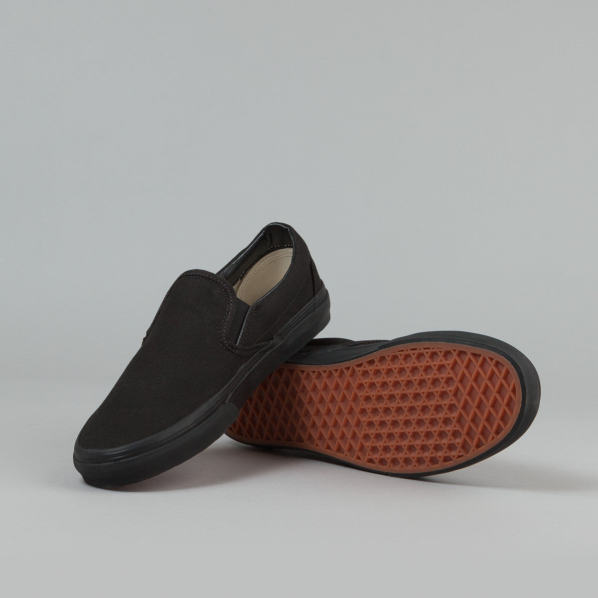Vans Classic Slip-on Shoes - Black / Black