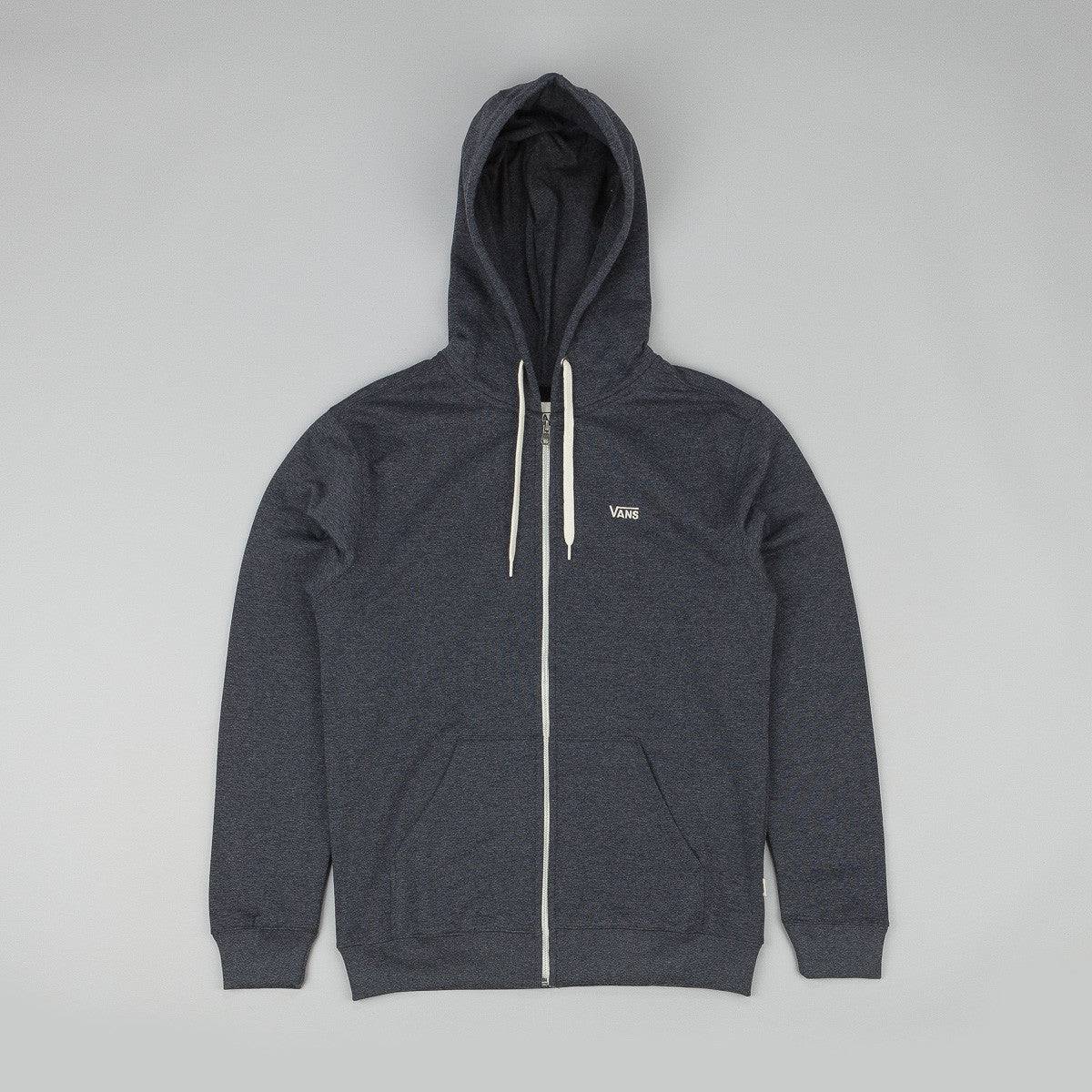 Vans Core Zip Hooded Sweatshirt Black Heather