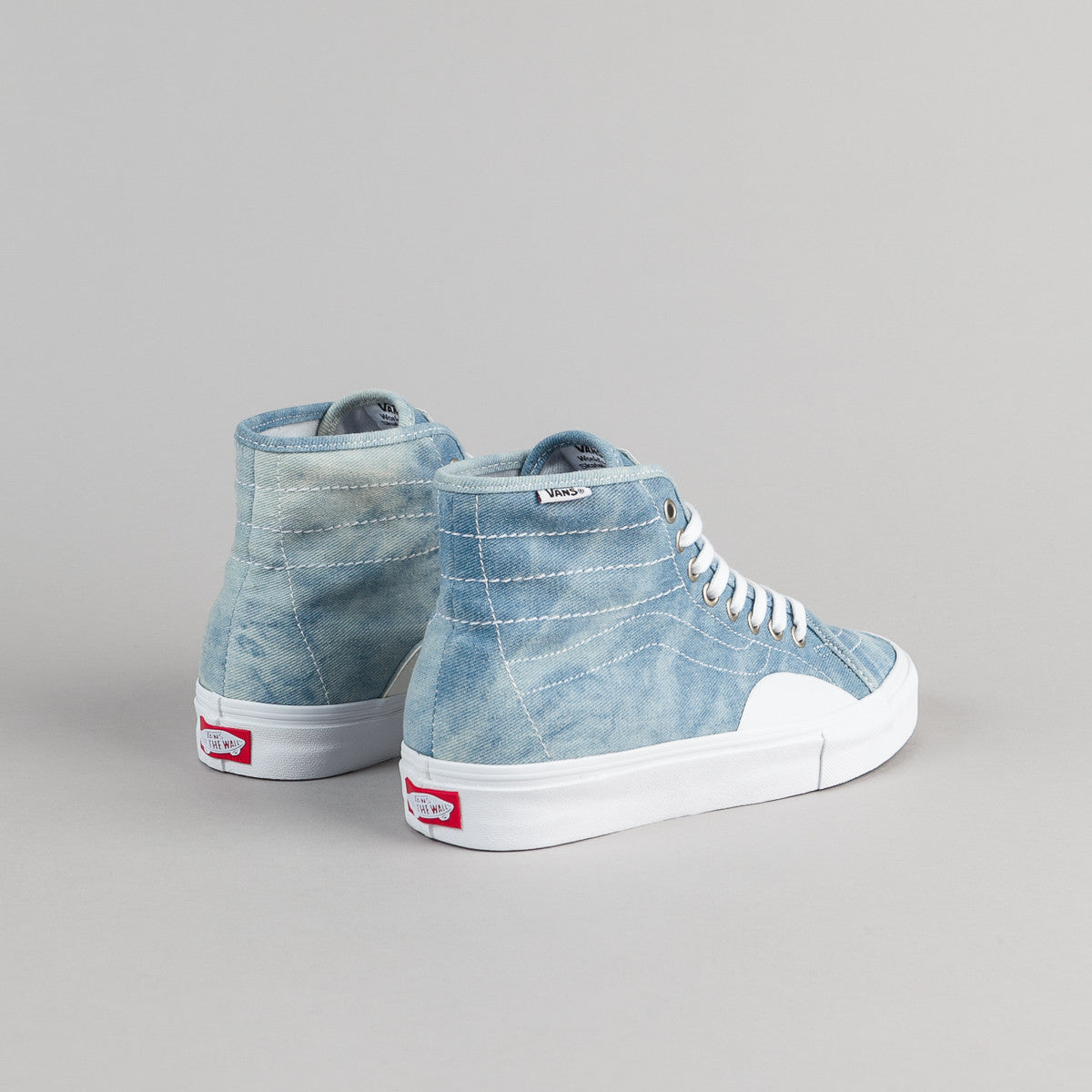 Vans AV Classic High Shoes - Denim / White