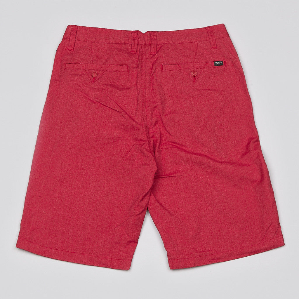 Vans Dewitt Shorts Red Heather