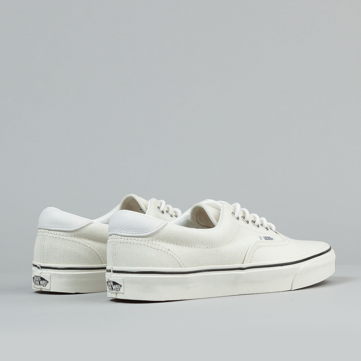 Vans Era 59 Shoes (Leather / Moustache) - Classic White / Marshmallow