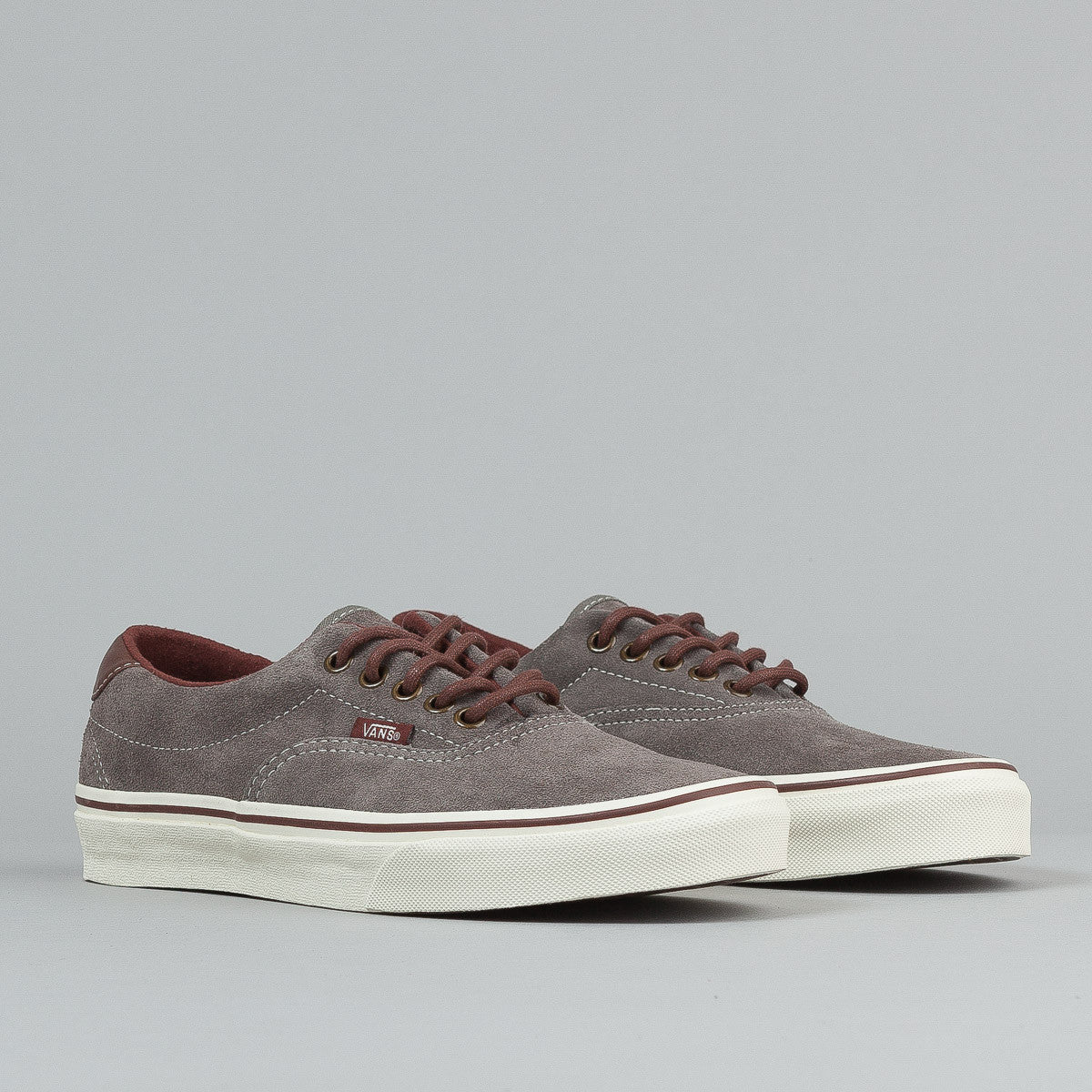 Vans Era 59 Shoes (Suede) - Pewter / Fudgesicle