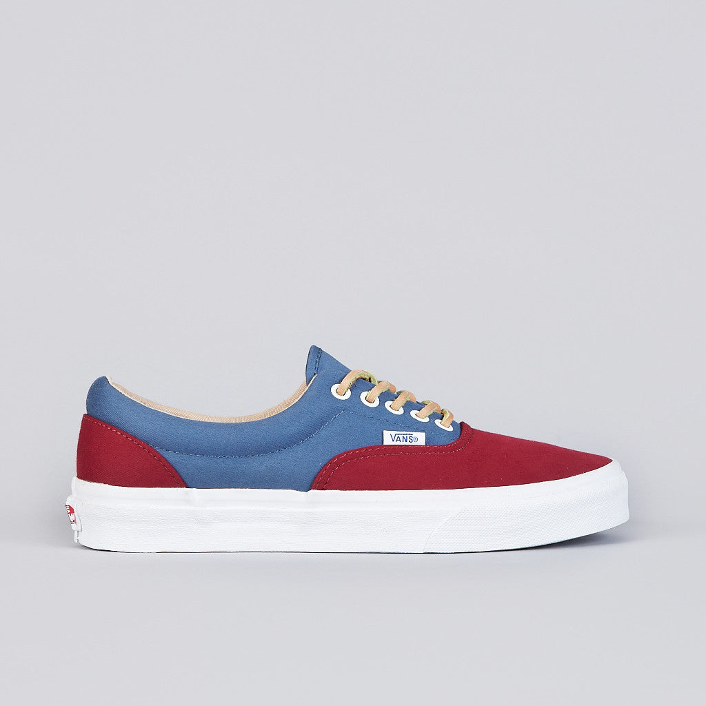 Vans Era CA (Brushed Twill) Biking Red / Stella