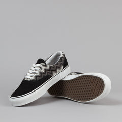 Vans Era LX Shoes - (ZigZag) Black / True White