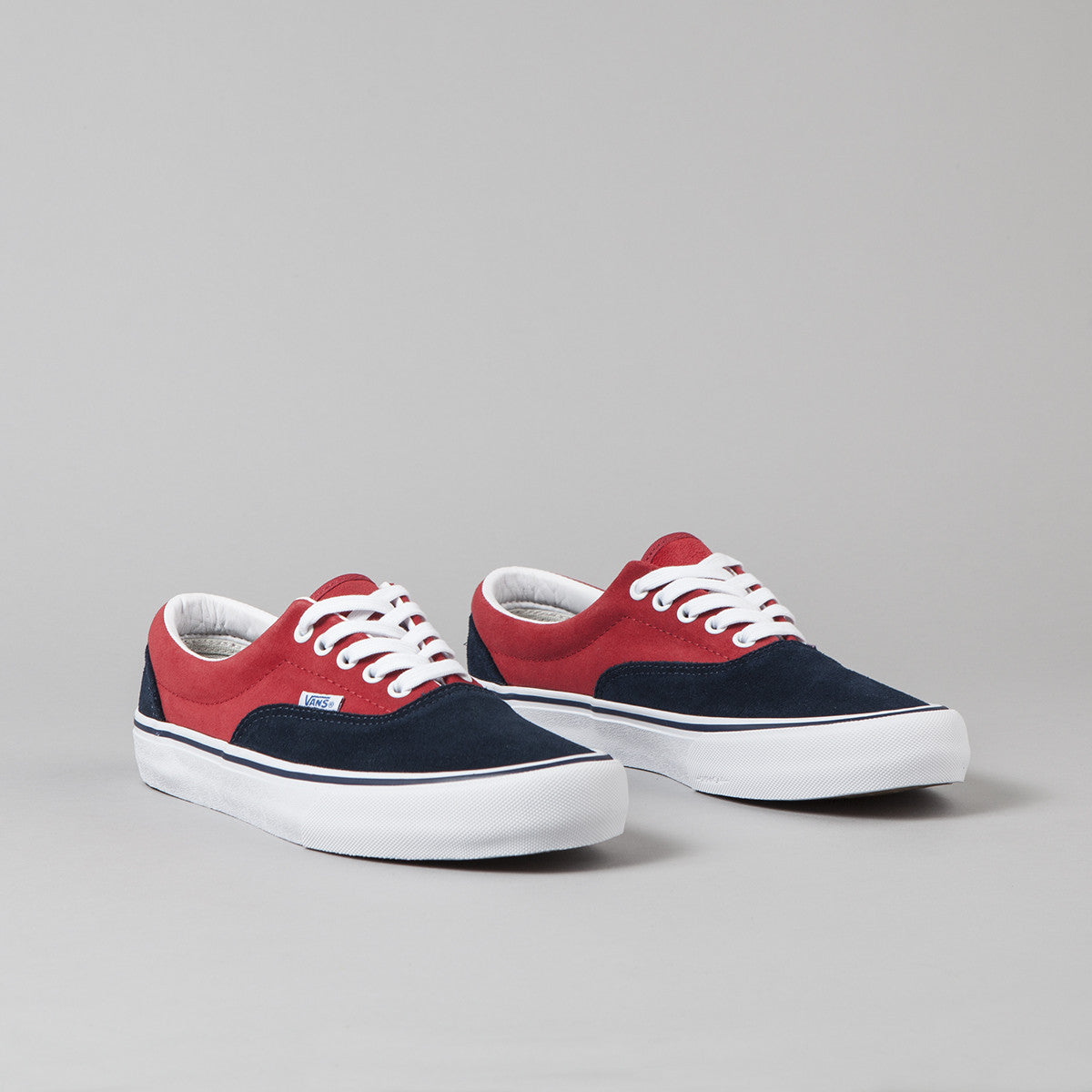Vans 50th Era Pro '76 Shoes - Navy / Red