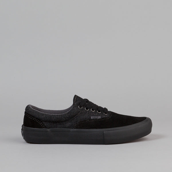 Vans Era Pro Shoes - Black / Black / Asphalt