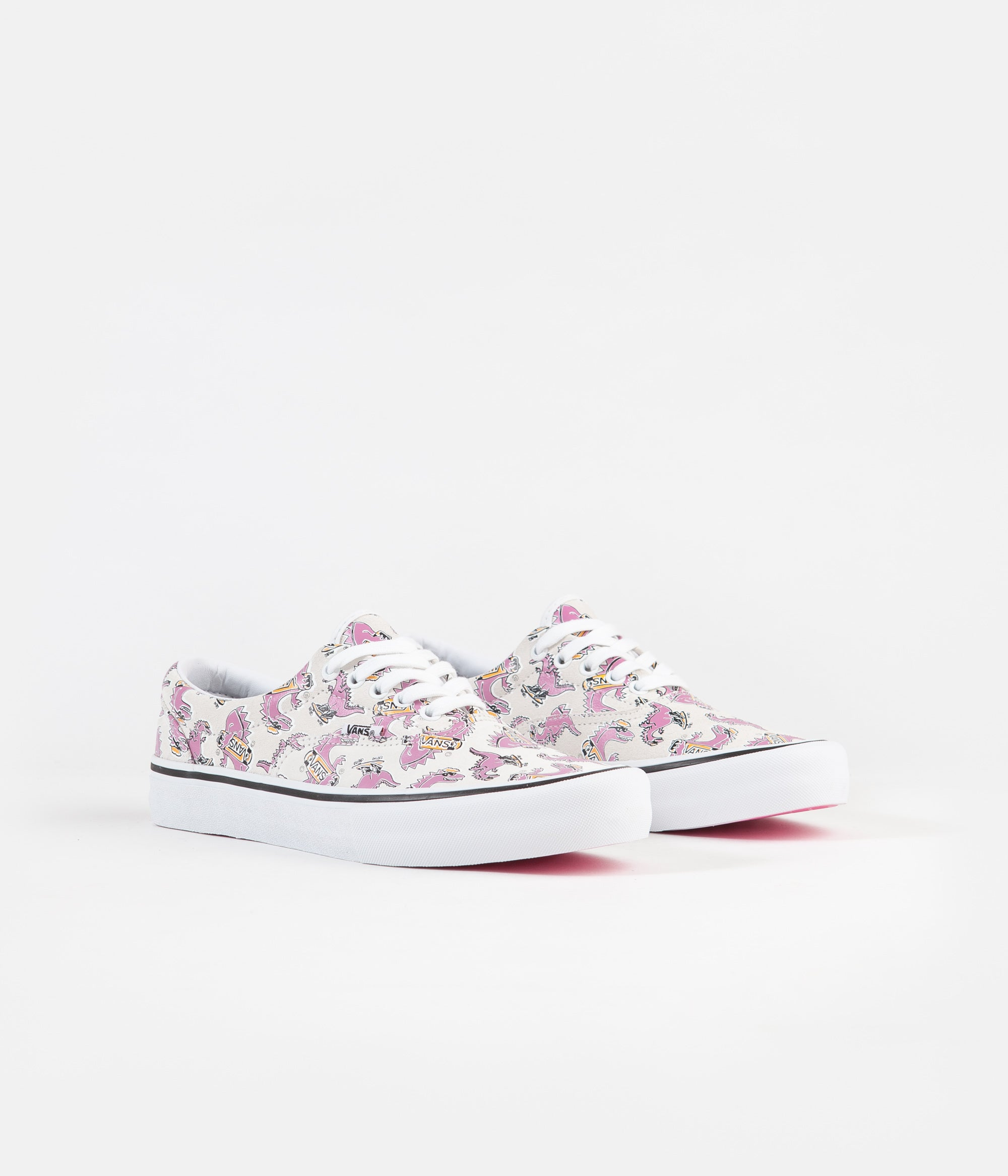 Vans Era Pro Shoes - (Vanosaur) White