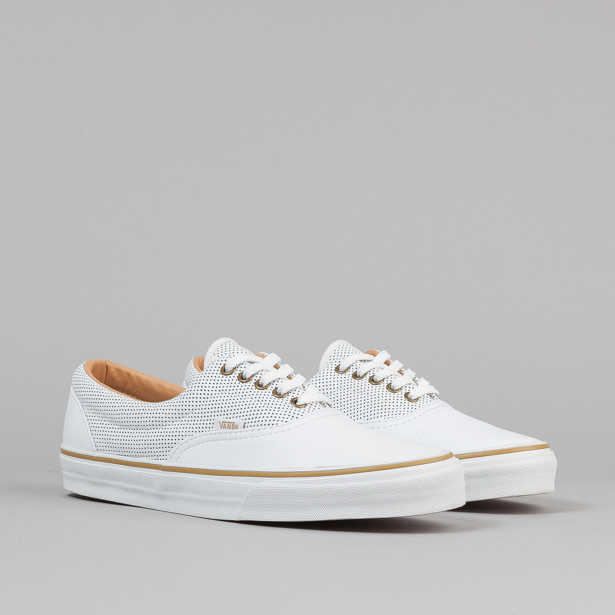 Vans Era Reissue CA Shoes - (Leather) White