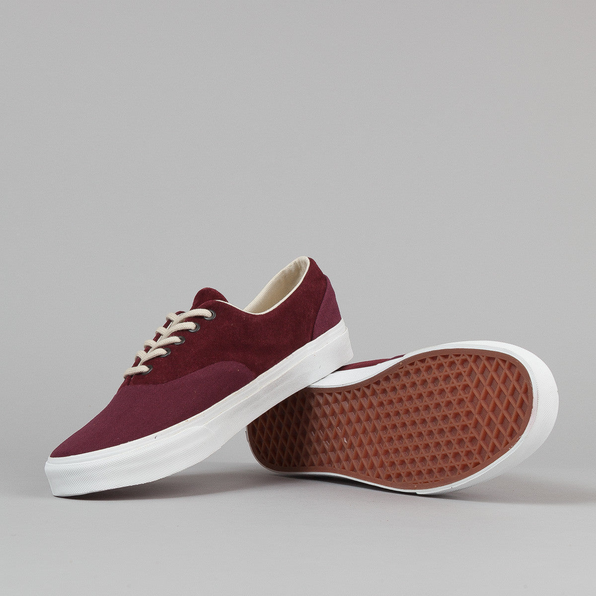 Vans Era Reissue NS CA Shoes - (Herringbone) Port Royale
