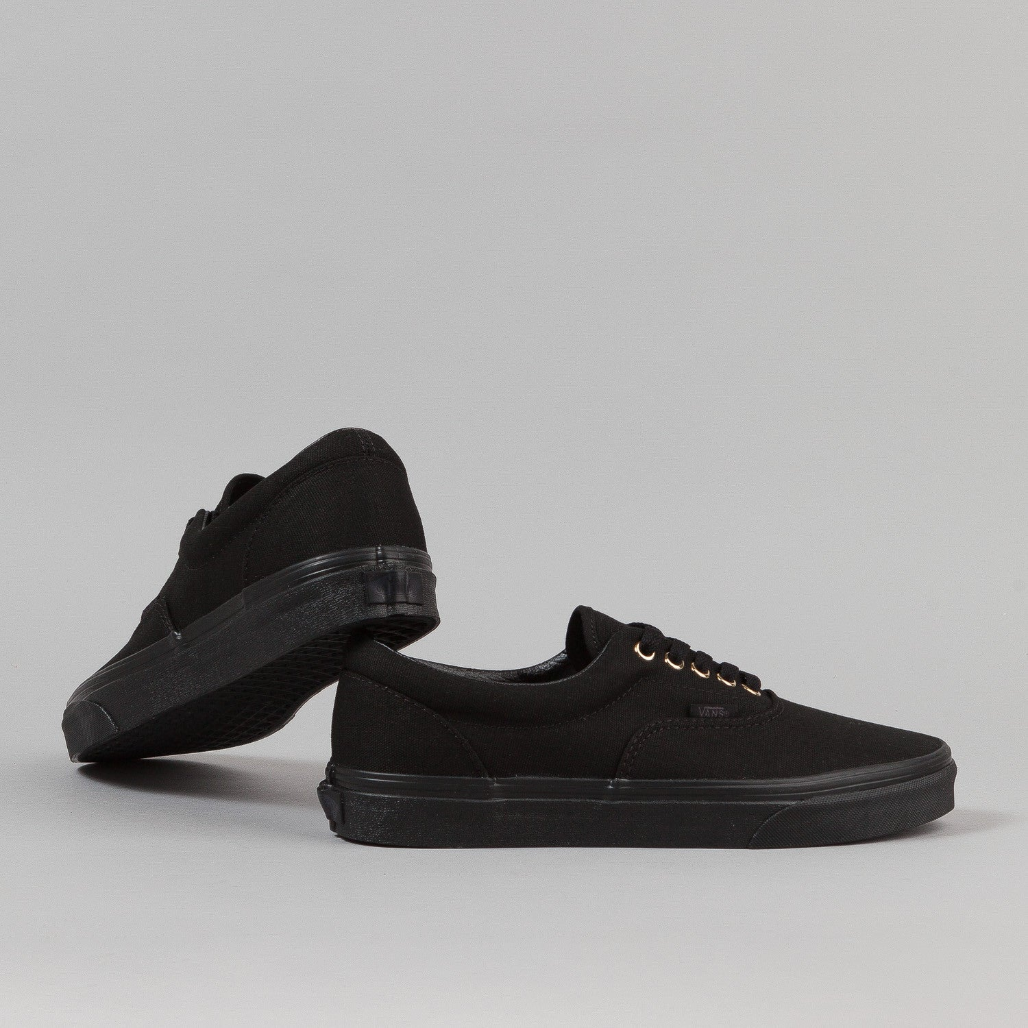 Vans Era Shoes - 'Gold Mono' Black