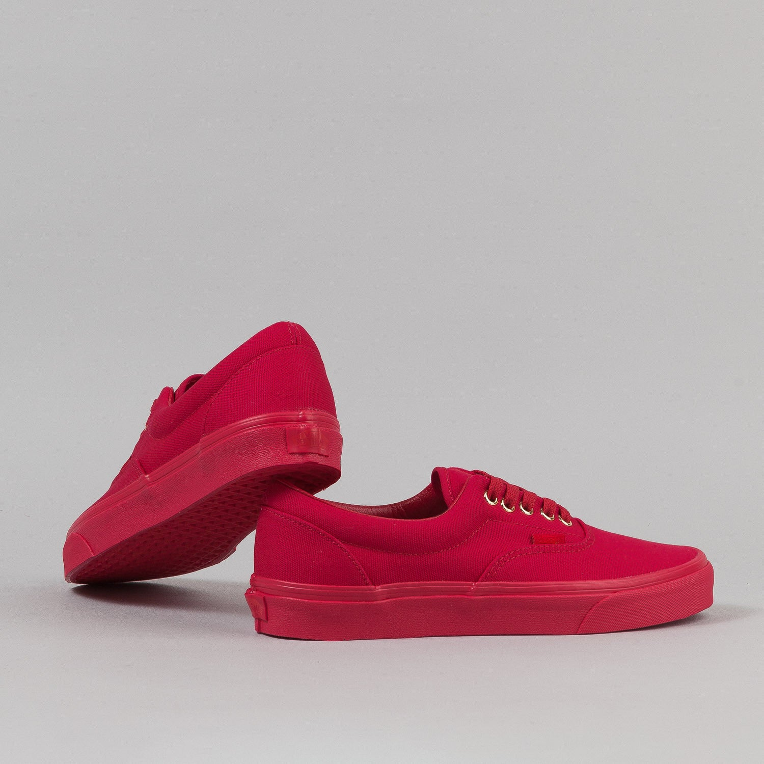 Vans Era Shoes - 'Gold Mono' Crimson