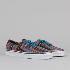 Vans Era Shoes - (Guate Stripe) Black