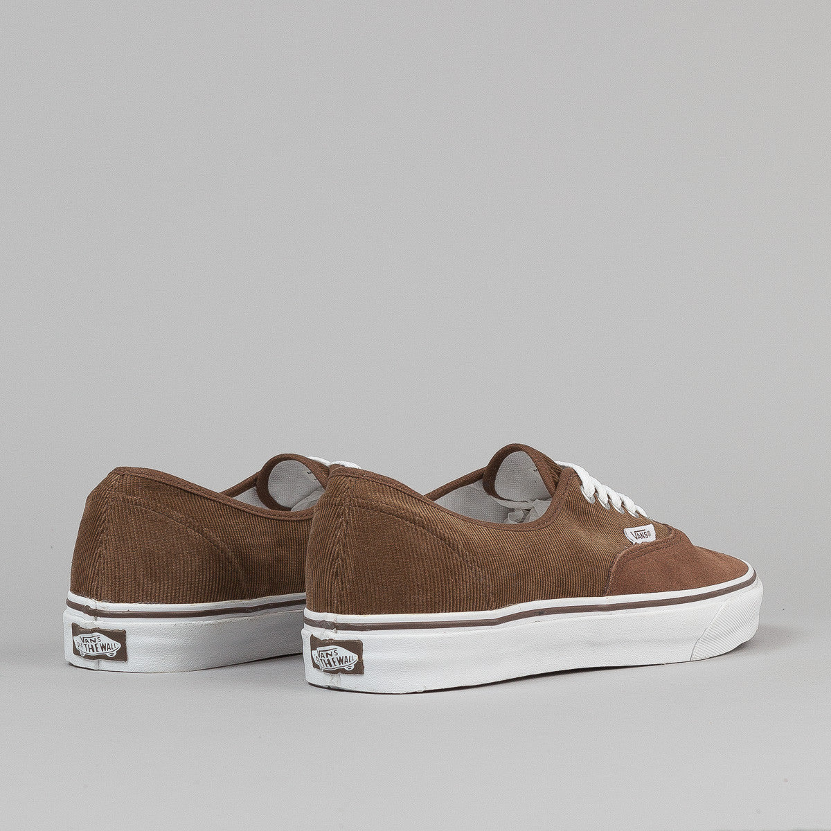 Vans Era Shoes - (Suede / Corduroy) Dark Earth / True White