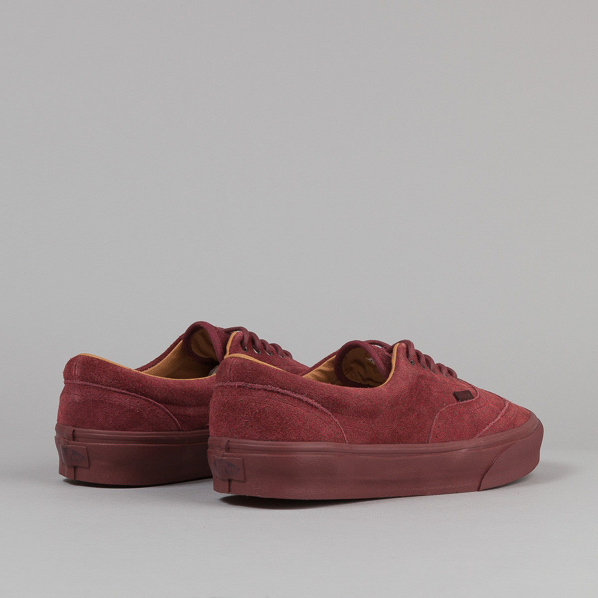 Vans Era Wingtip CA Shoes - (Suede) Madder Brown