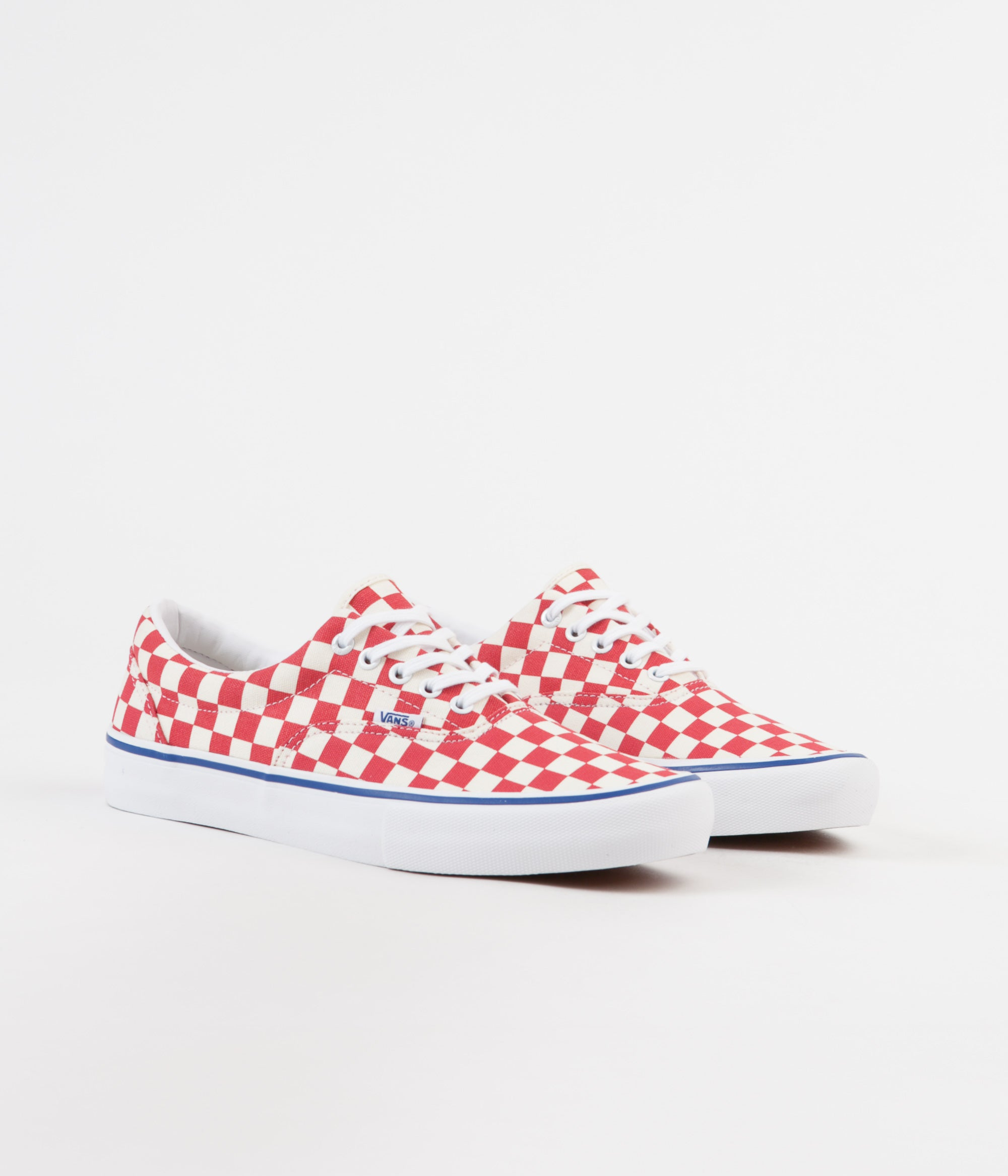 ... Vans Era Pro Checkerboard Shoes - Rococco Red   Classic White ... f75969da6