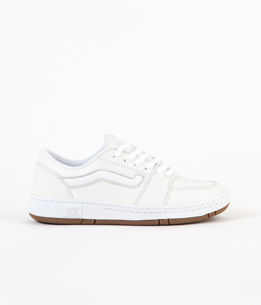 Vans Fairlane Pro Shoes - White / White / Gum