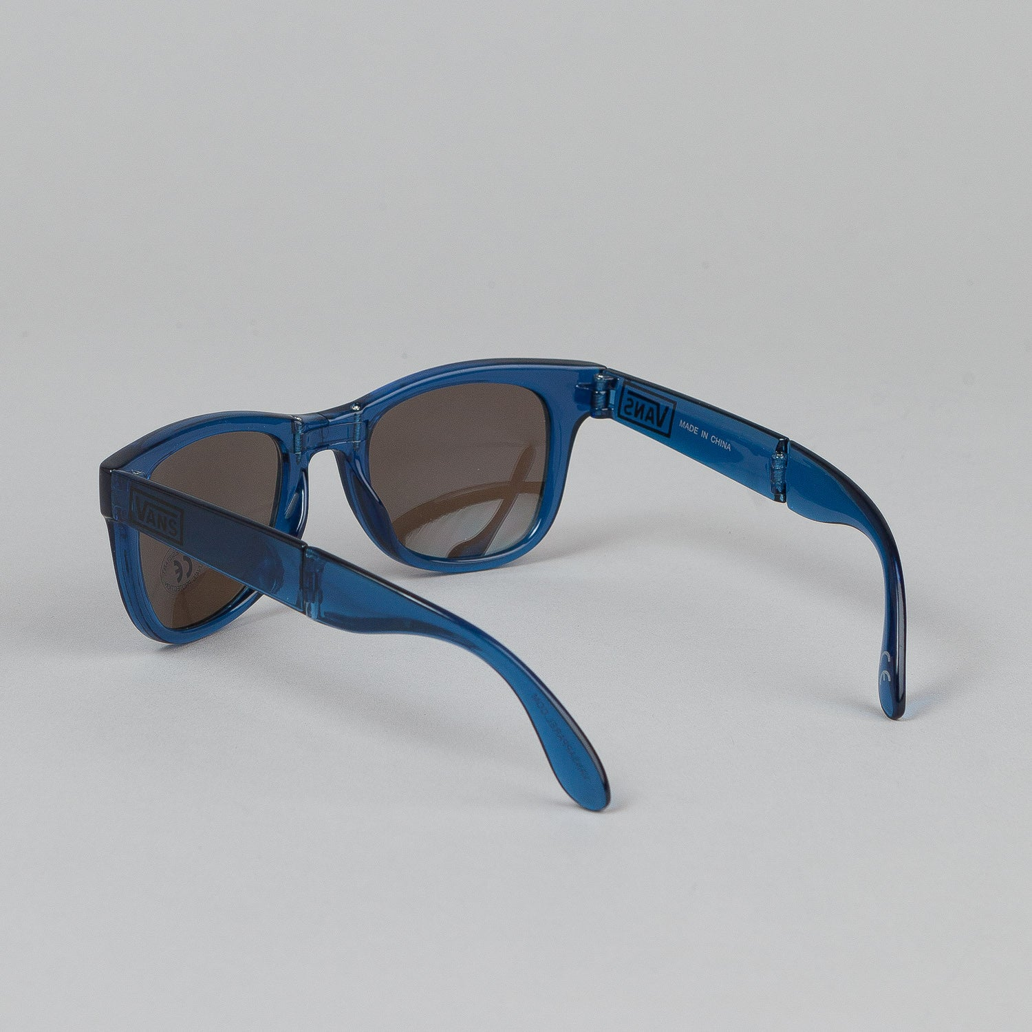 Vans Folding Spicoli Sunglasses - Transparent Classic Blue