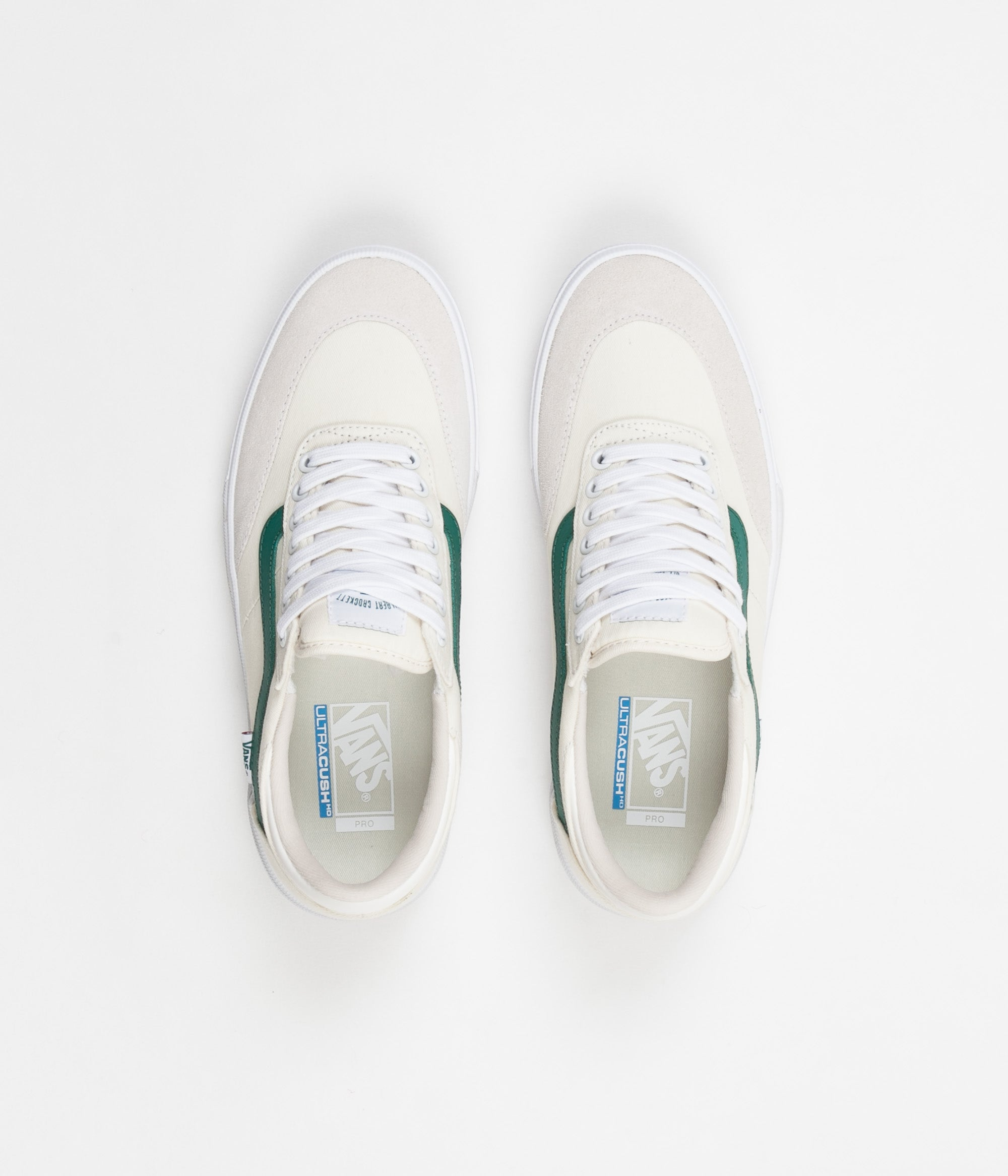 Vans Gilbert Crockett 2 Pro Centre Court Shoes - Classic White   Evergreen  ... f00b71b3f