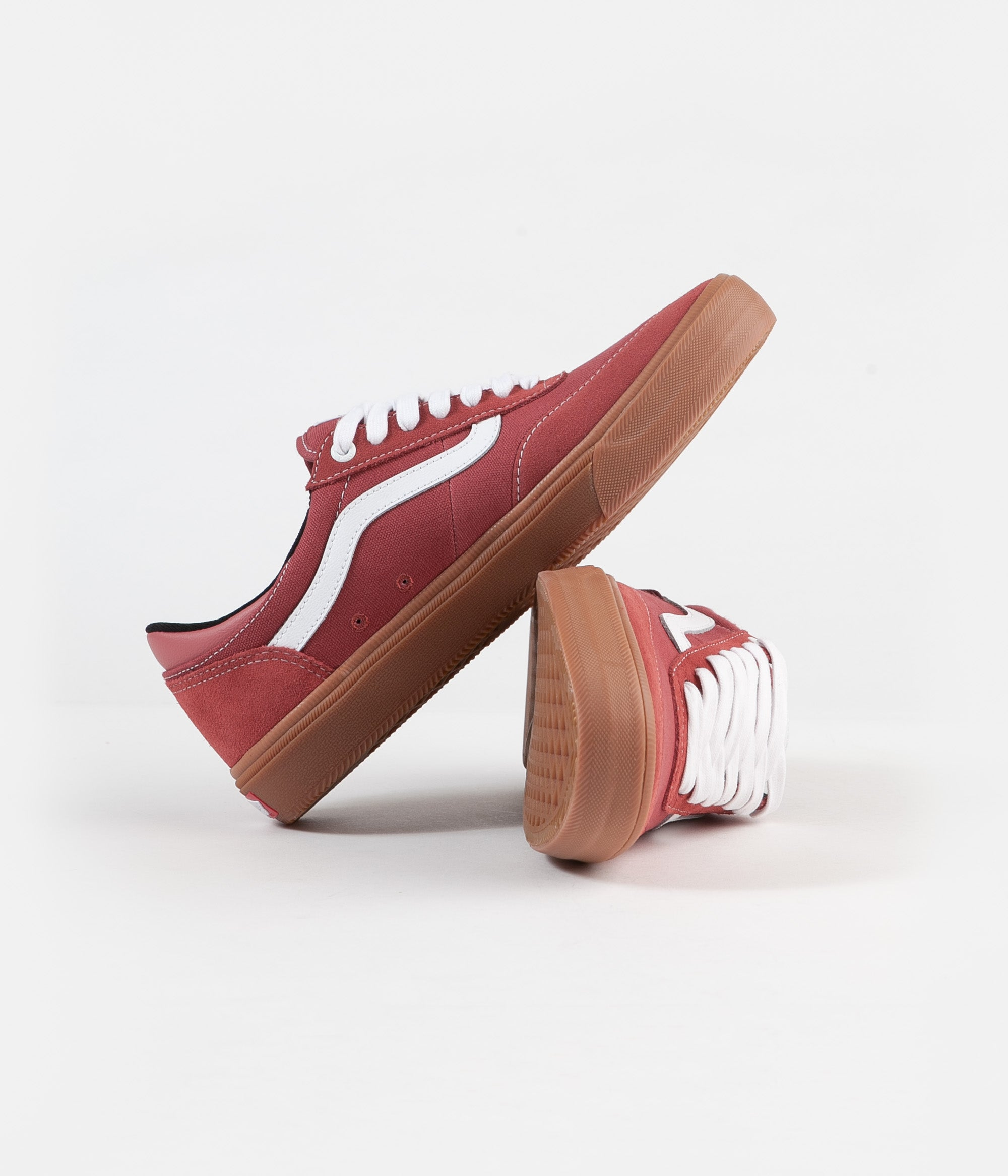 Vans Gilbert Crockett 2 Pro Shoes - (Gum) Mineral Red / True White