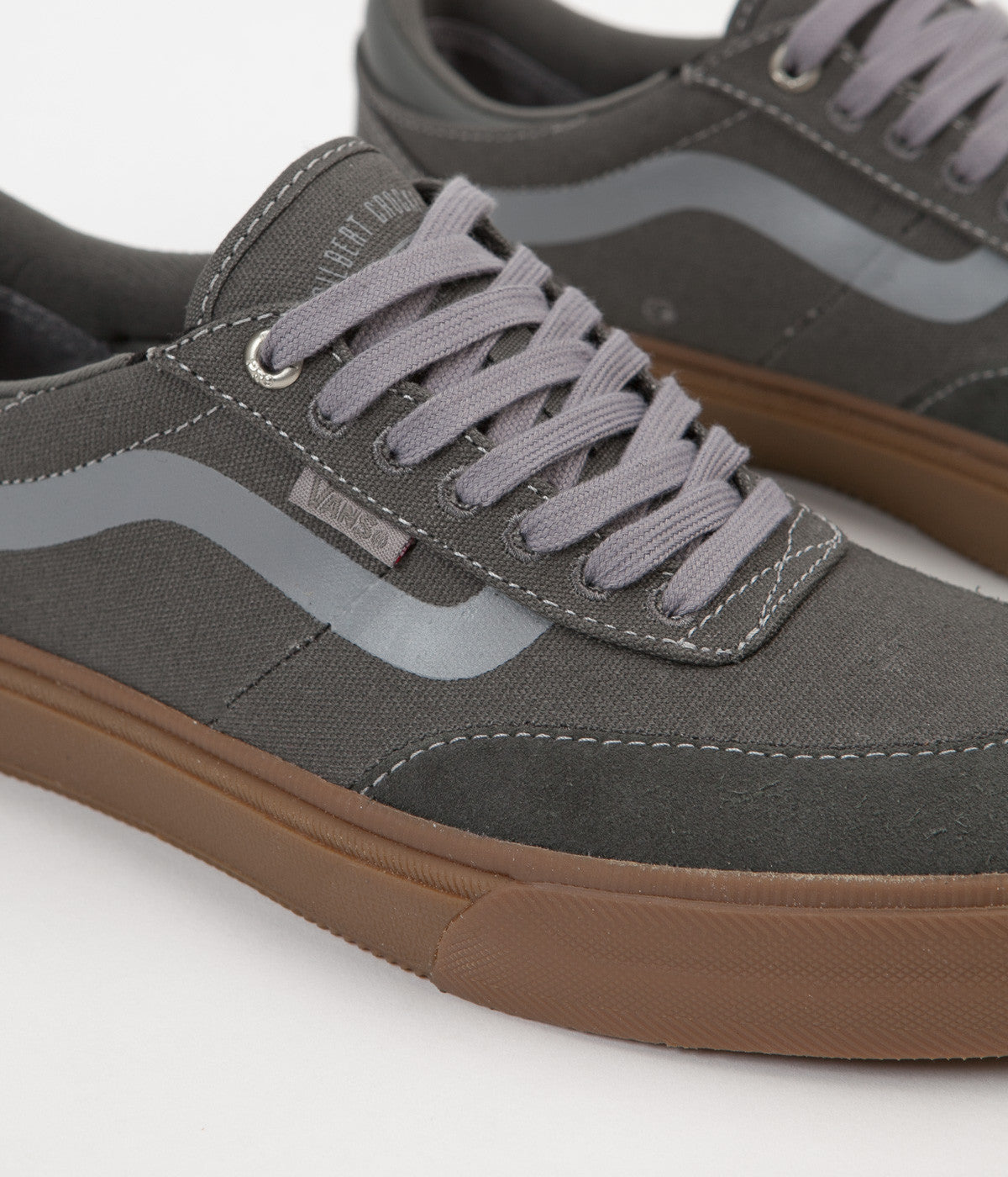 Vans Gilbert Crockett 2 Pro Shoes Gunmetal Gum | Flatspot