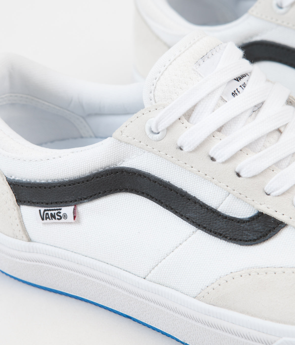 1fbb499db6 ... Vans Gilbert Crockett 2 Pro Shoes - True White   Black ...