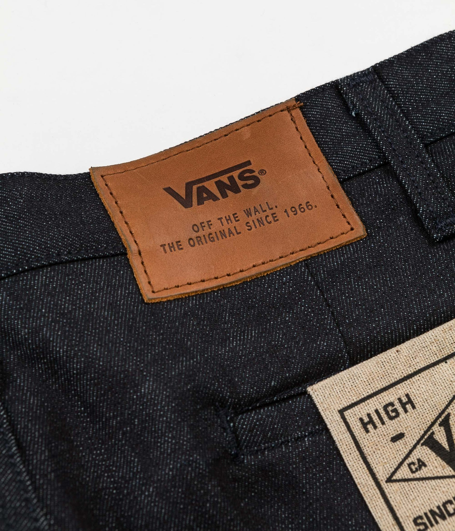 Vans Gilbert Crockett Denim Chino Trousers - Raw Oakhurst