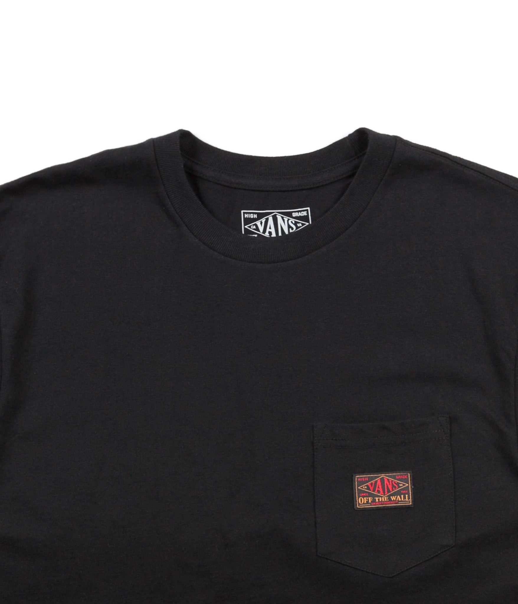 Vans Gilbert Crockett Pocket T-Shirt - Black