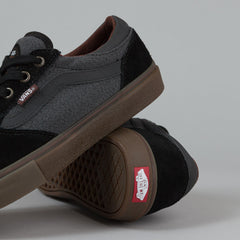 Vans Gilbert Crockett Pro Shoes - (Covert Twill) Black