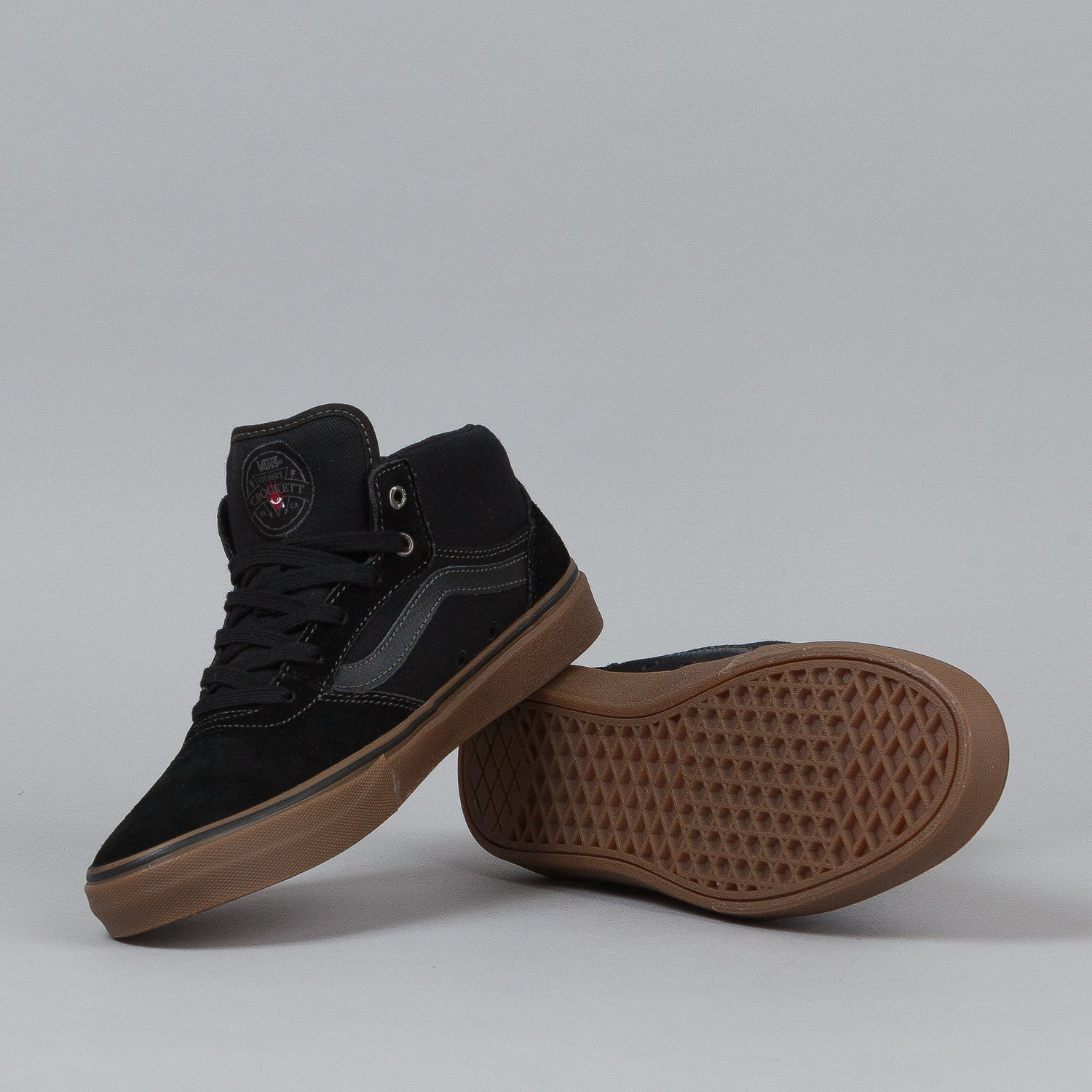 Vans Gilbert Crockett Shoes - Black / Gum