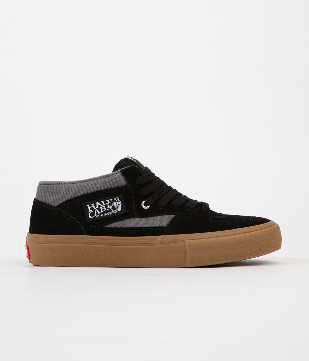 31042c67dfe Vans Half Cab Pro Shoes - Black   Pewter   Gum