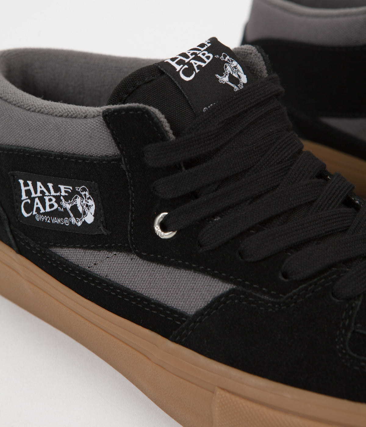 e70b78af101 ... Vans Half Cab Pro Shoes - Black   Pewter   Gum ...