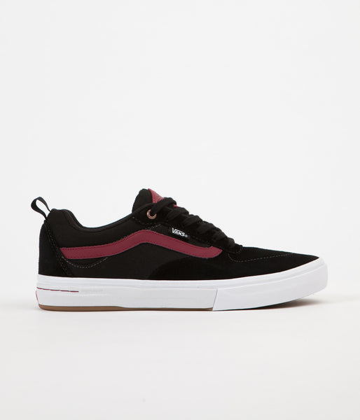 Vans Kyle Walker Pro Shoes - Black / Tibetan Red
