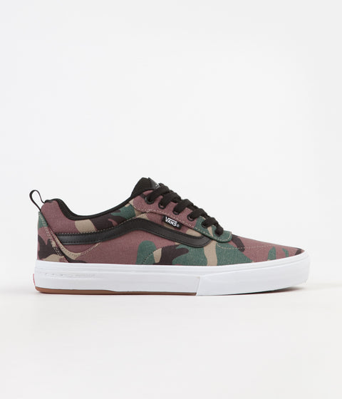 Vans Kyle Walker Pro Shoes - (Camo) Black / White