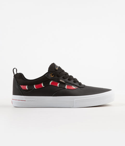 Vans Kyle Walker Pro Shoes - (Coral Snake) Black / True White