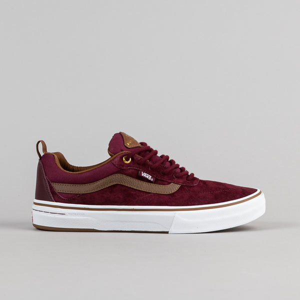Vans Kyle Walker Pro Shoes - Red Dhalia