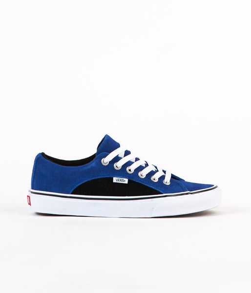 Vans Lampin Pro 2-Tone Suede Shoes - True Blue / Black