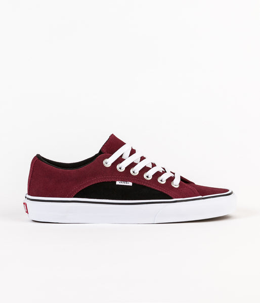 Vans Lampin 2-Tone Suede Shoes - Port Royale / Black