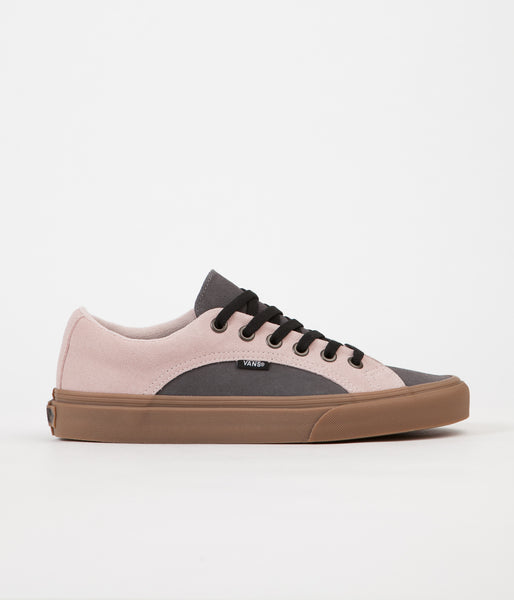 Vans Lampin Suede Shoes - Sepia Rose / Pewter
