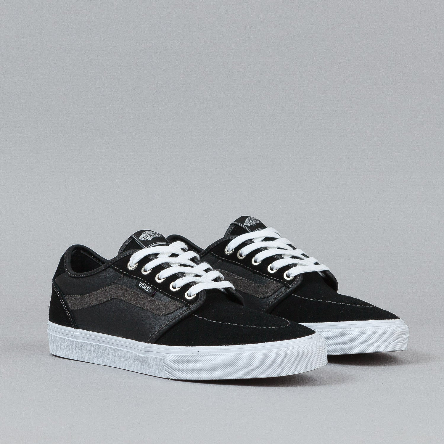 Vans Lindero 2 Shoes - Black / White / Silver