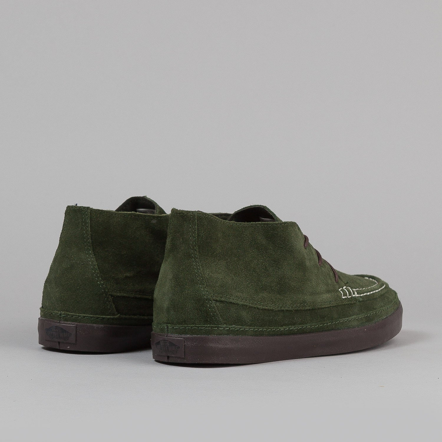 Vans Mesa Moc CA Shoes - Rosin / Black Coffee