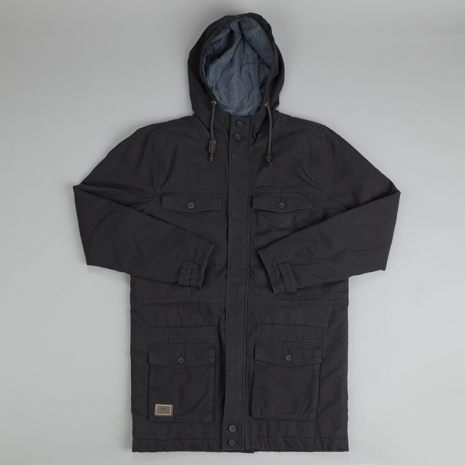 Vans Moreno Jacket New Charcoal