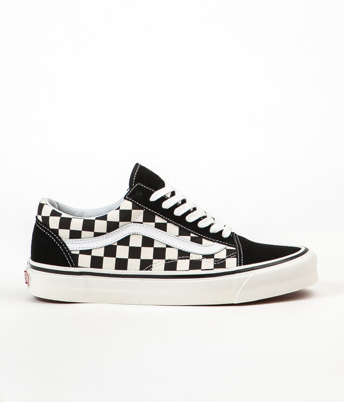 3435061780 Vans Old Skool 36 DX Anaheim Factory Shoes - Black   Check
